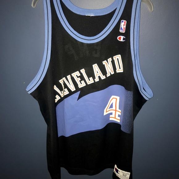 huge selection of 162a9 88081 Rare - Champion Cleveland Cavs *Kemp* NBA jersey